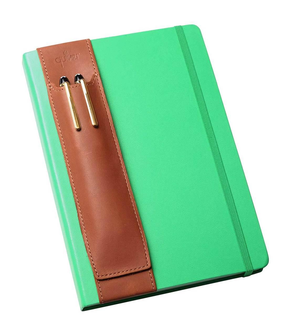 Double pen Quiver notebook pen holders